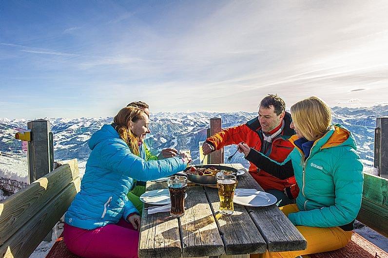 SkiWelt Hüttenkultur - Genuss am Berg - © SkiWelt Wilder Kaiser - Brixental, Fotograf: Christian Kapfinger