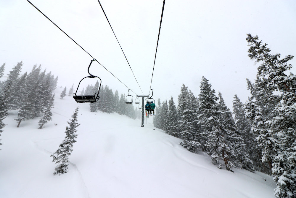 Pallavicini Lift opens for the season at Arapahoe Basin Ski Area thanks to a 9 inch dump. - © Arapahoe Basin Ski Area