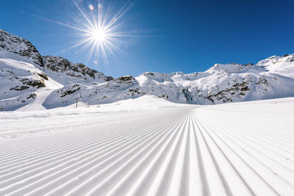 Piste am Kaunertaler Gletscher - © Kaunertaler Gletscher | Daniel Zangerl