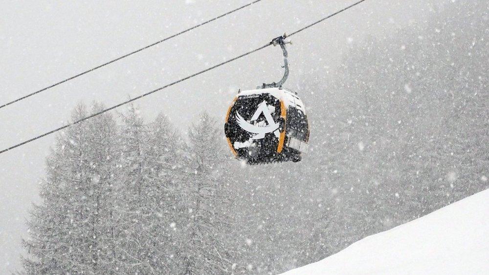 Schneefall in Livigno - © Carosello 3000 Livigno Facebook