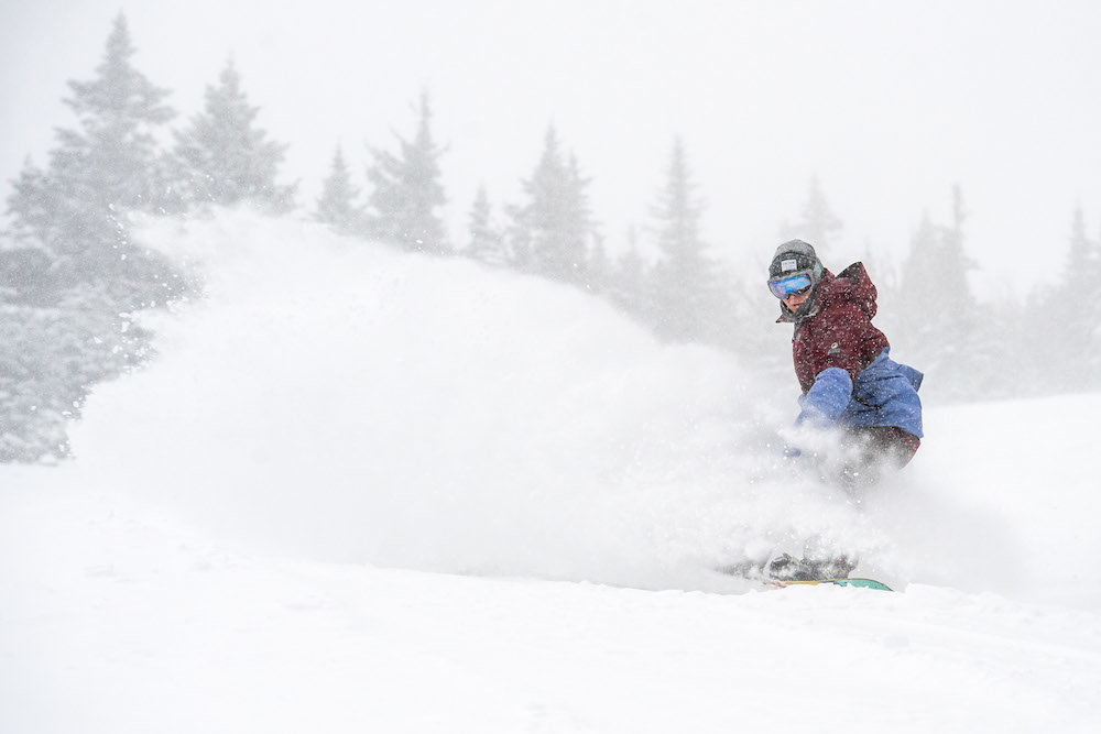 The deep just got deeper in the Northeast this December. - © Mount Snow