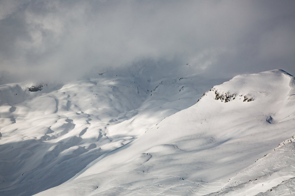Hochalpine Landschaft in Flims-Laax-Falera - © Skiinfo