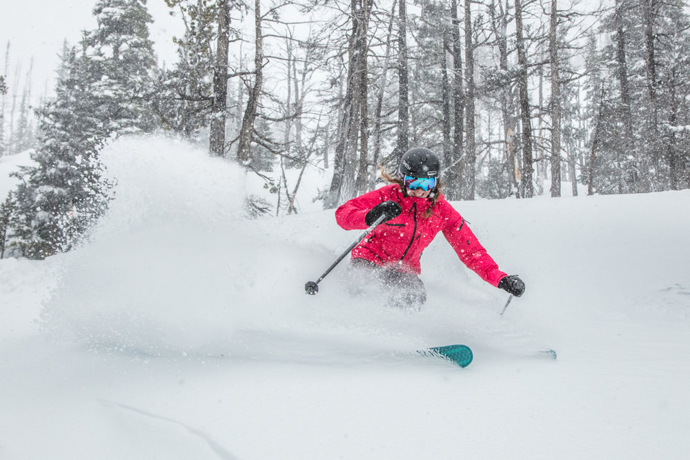 Nothin' but powder pretty much all season long for lucky Whistler Blackcomb. - © Whistler Blackcomb