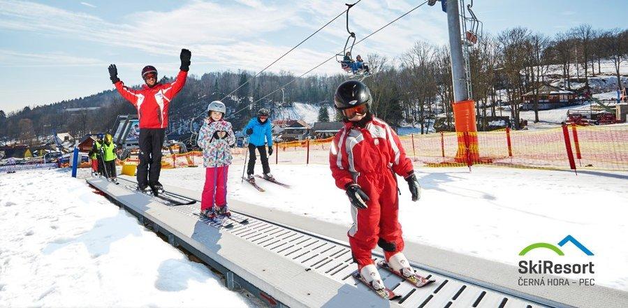 LIVE park v rodinnom lyžiarskom stredisku Černý Důl - © SkiResort ČERNÁ HORA - PEC