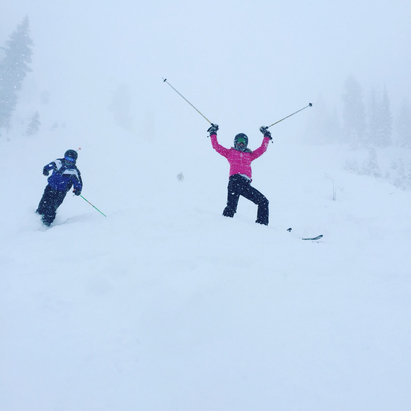 Snowbird - Powder day! - © Jeanne Dillon's iPhone