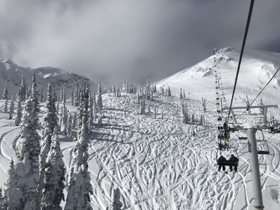 Fernie Alpine - Polar Peak was open today!  - © Nadia's iPhone