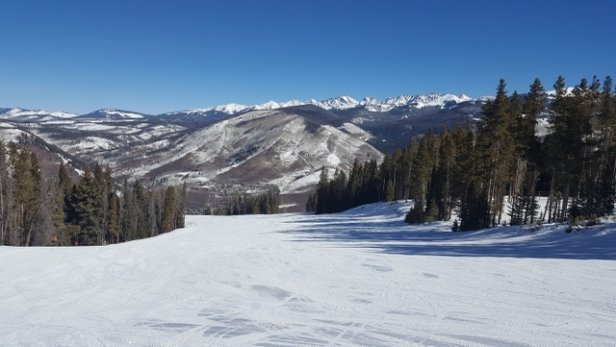 Vail - Considering the lack of snow conditions have been great this week.  - © anonymous