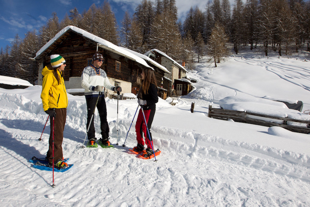 Výlety na sněžnicích - © archiv Livigno