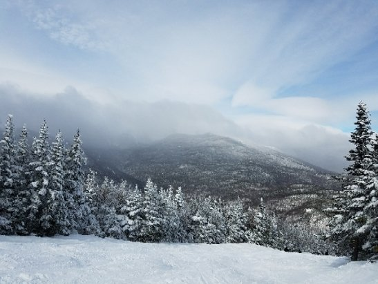 Wildcat Mountain - beautiful conditions today - © anonymous