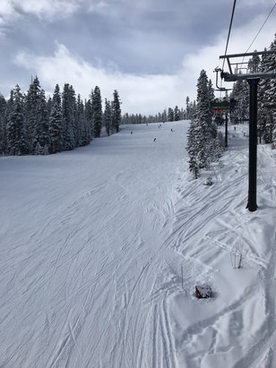 Northstar California - Great ski yesterday 3/15/18 snowed almost all day soft powder everywhere had a great day! - © Bigb's I phone