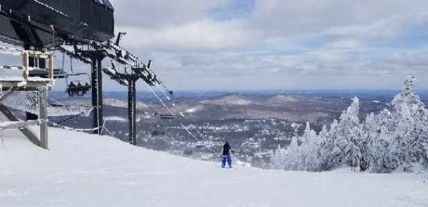 Mount Snow - Awesome day, conditions were great. The parking was kind screwed but oh well - © Otto