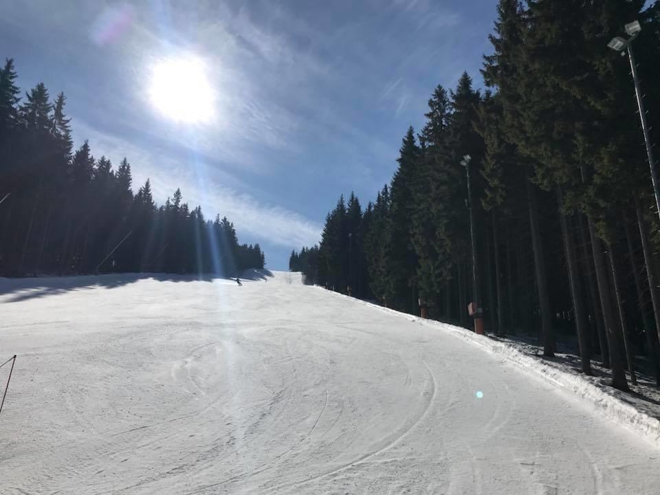Špindlerův Mlýn - Stará Hromovka 20.3.2018 - © facebook Skiareál Špindlerův Mlýn