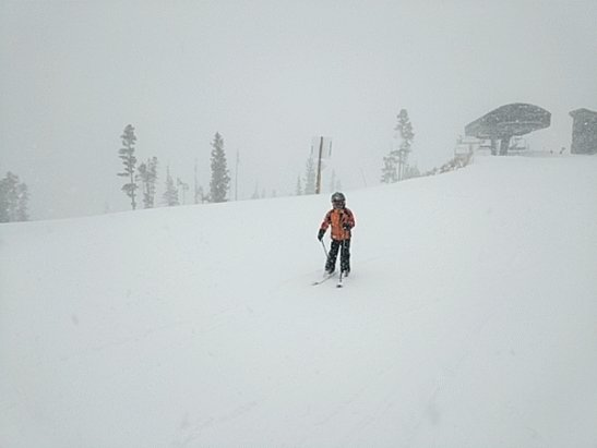 Winter Park Resort - Lots of heavy wet powder over a packed base. - © anonymous