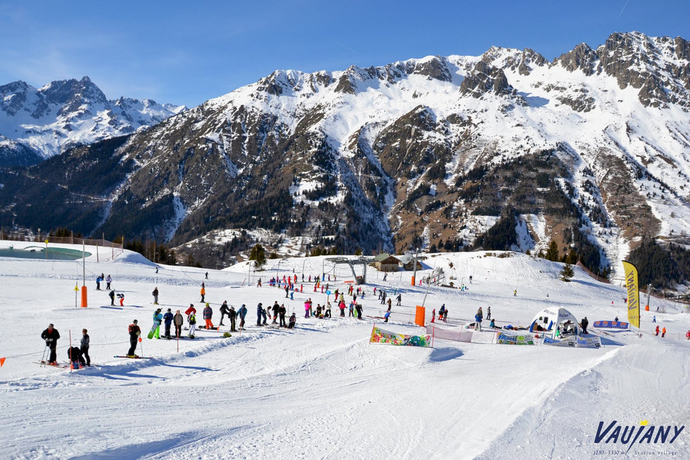Domaine skiable de Vaujany - © Station de Vaujany