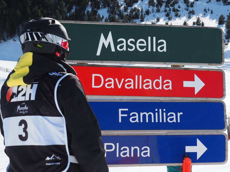 A chacun sa piste de ski à Masella - © Station de ski de Masella