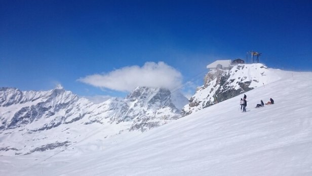Cervinia - Breuil - Pretty good  - © Mr. La Merda