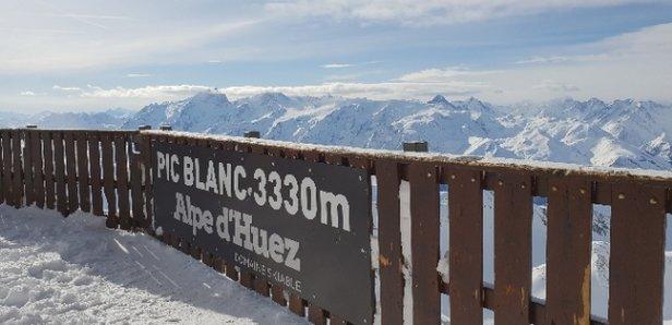 Alpe d'Huez - au sommet  - © Emmanuel