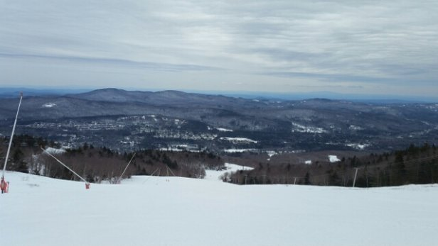 Mount Snow - Nice and soft groomers today with the majority of trails open.   - © anonymous