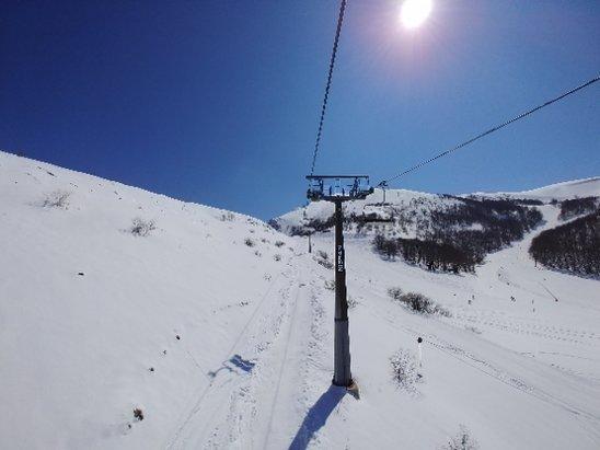 Campo Felice - Rocca di Cambio - neve fantastica fino alle 13, dopodich - © kevin