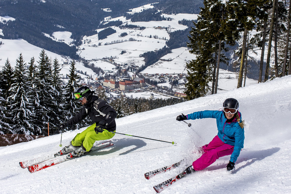 Skifahren in Grebenzen - © Ikarus.cc | www.grebenzen.at
