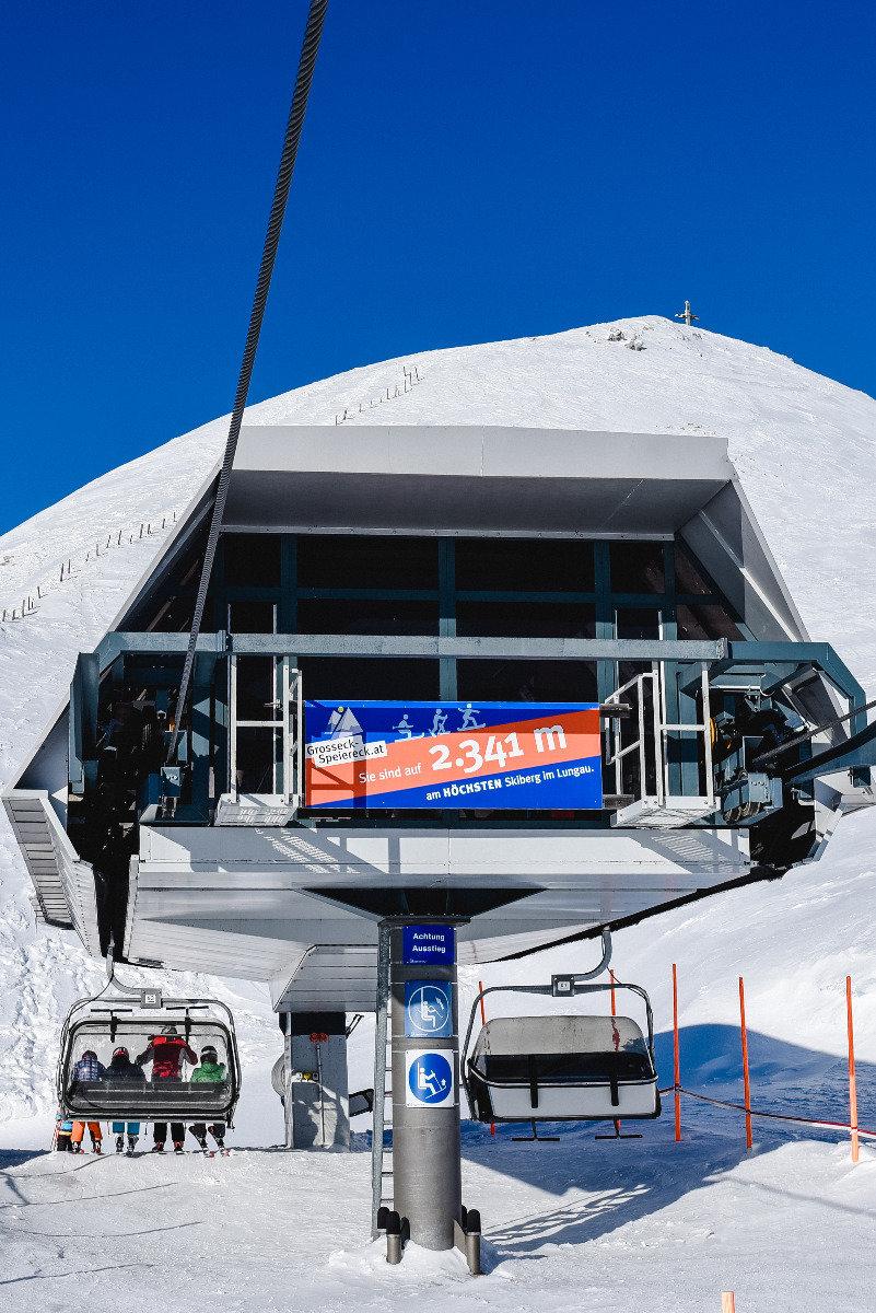 Die höchste Bergstation im Lungau - © Bergbahnen Lungau