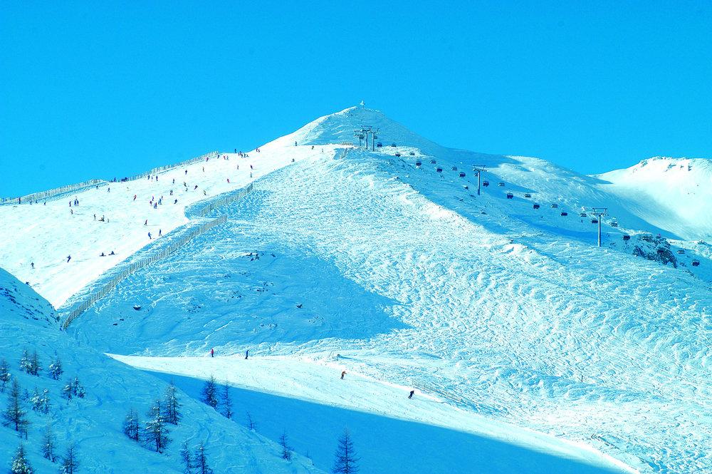 Skigebiet Großeck-Speiereck - © Bergbahnen Lungau
