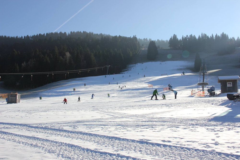 Skigebiet Hochlitten Altmünster - © Skilifte Hochlitten
