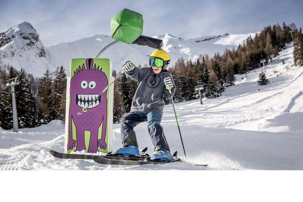Das Skigebiet Imst ist besonders gut für Familien und Kinder geeignet - © Imster Bergbahnen | Rudi Wyhlidal