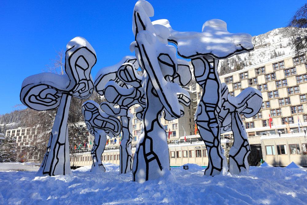 Flaine, la station de ski ou architecture et arts se partagent la vedette... - © OT Flaine / Monica Dalmasso