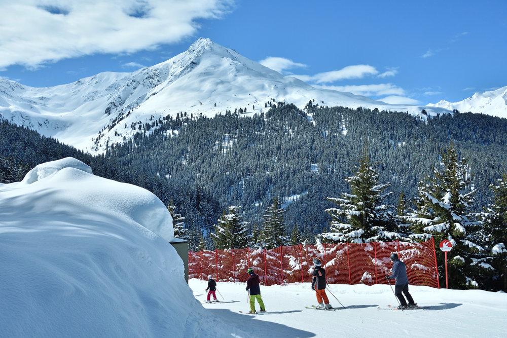 Impressionen aus dem Skigebiet See im Paznauntal - © www.bergbahn.com