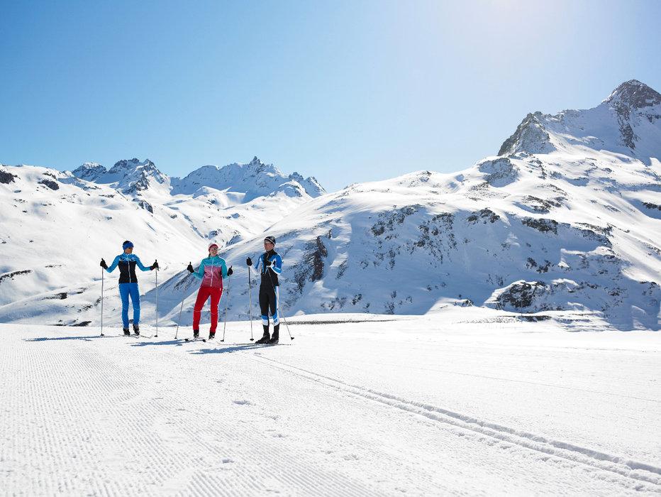 Langlaufen auf der Silvretta Bielerhöhe - © Alexander Kaiser