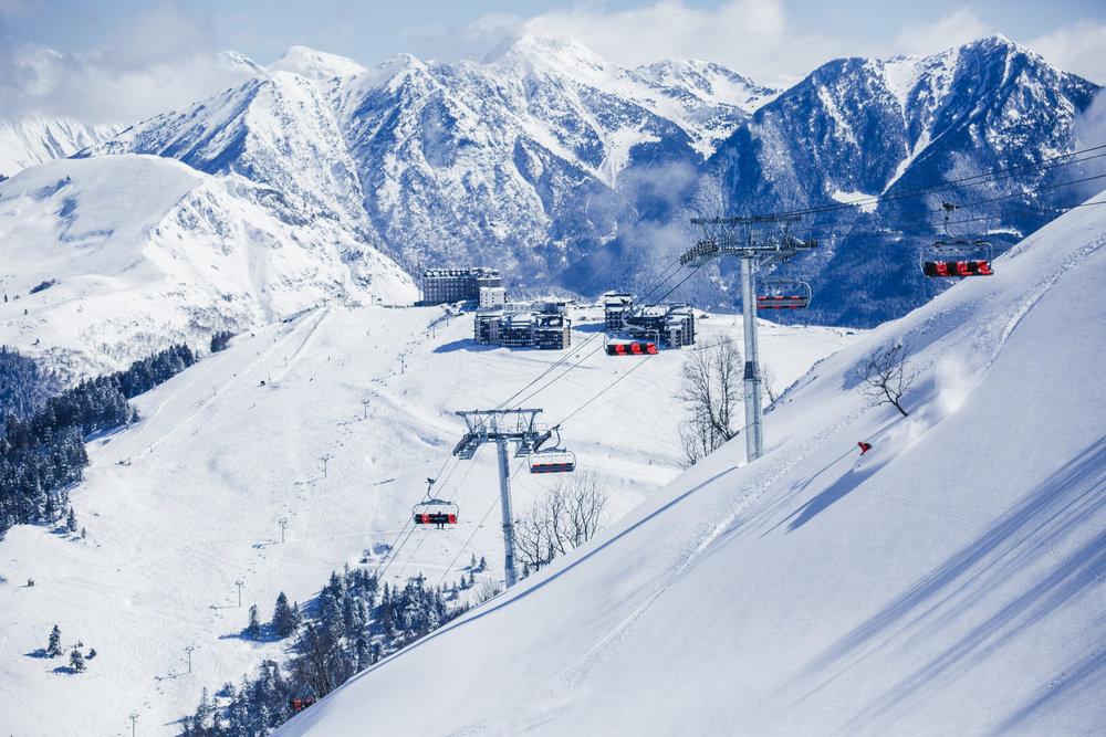 Skigebiet Luchon Superbagnères - © Jérôme CAU