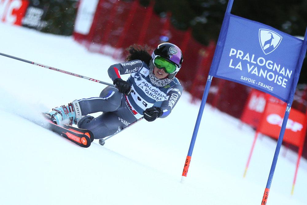 Haut lieu du télémark, Pralognan la Vanoise accueille régulièrement des compétitions nationale ou internationale - © Agence Zoom - Laurent Salino