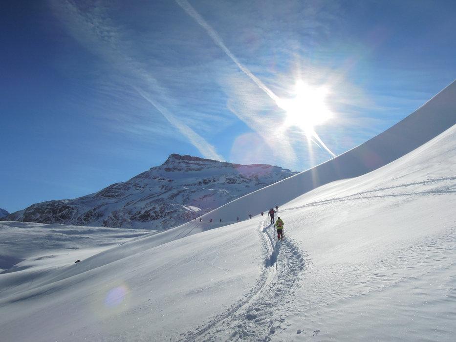 Pralognan la Vanoise est aussi un spot prisé pour la pratique du ski de randonnée - © Office de Tourisme de Parlognan la Vanoise