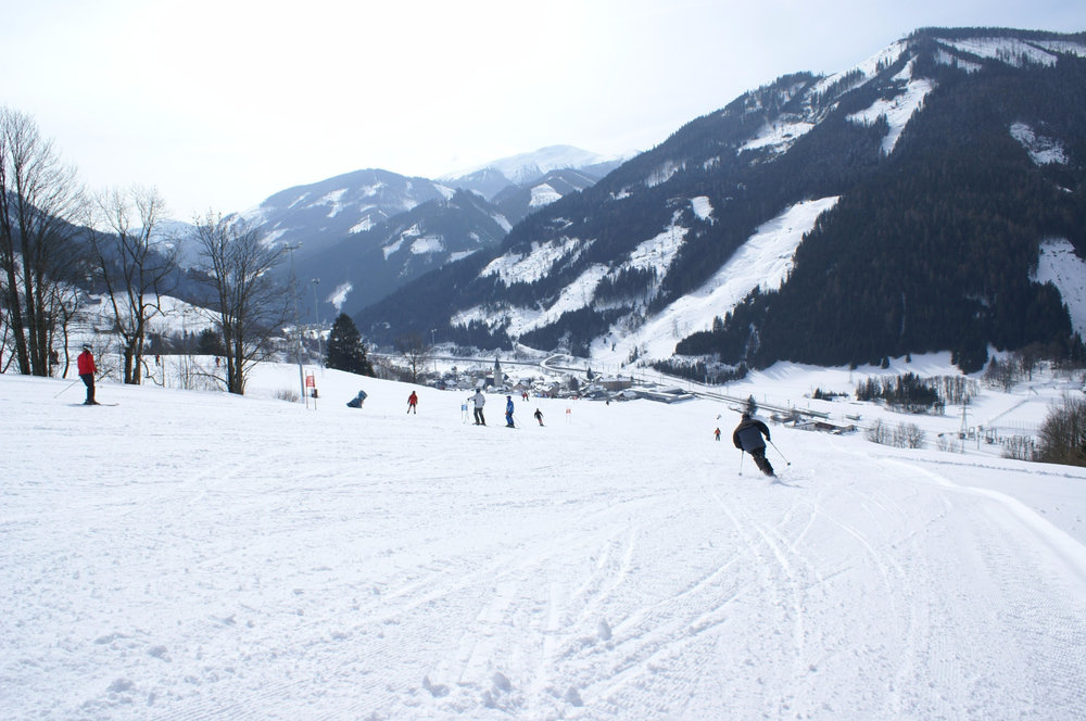 Piste in Wald am Scoberpass