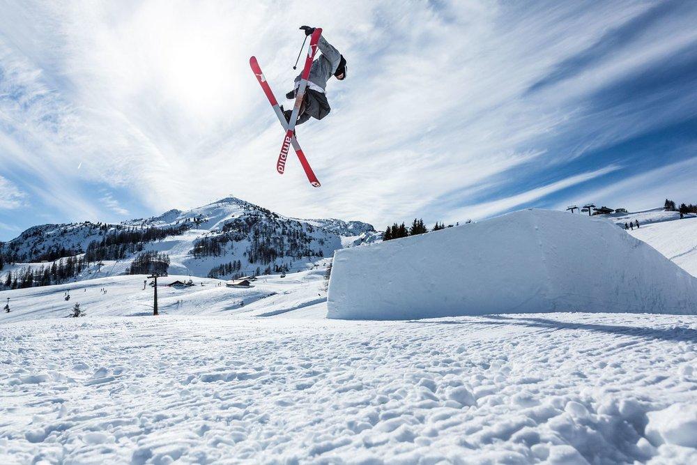 Snowpark Steinplatte - © Bergbahnen Steinplatte
