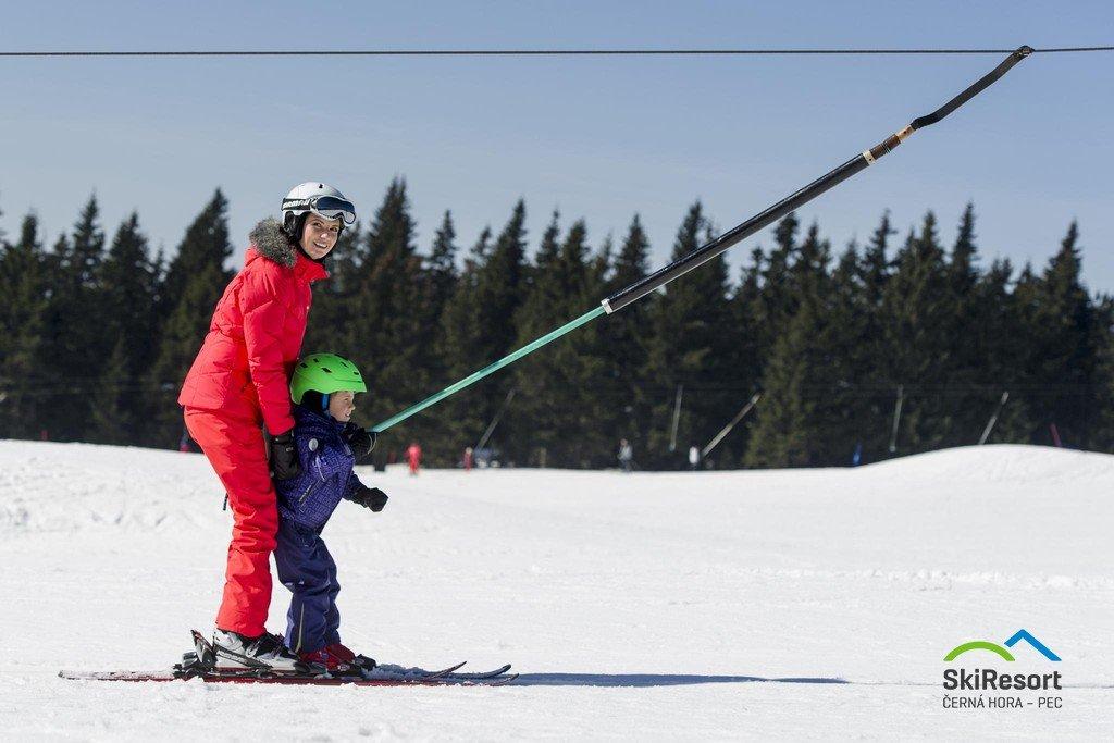 V lyžařském středisku Černá hora najdete 3 lokality, určené dětem. - © SkiResort ČERNÁ HORA - PEC