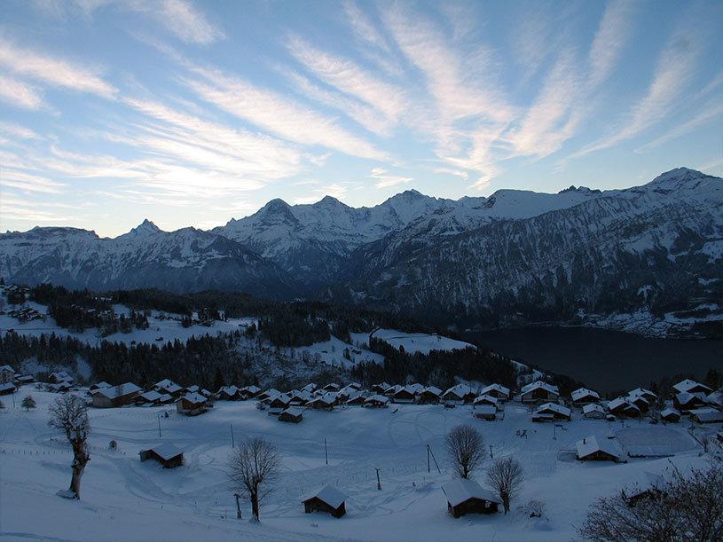 Beatenberg im Winter - © Beatenberg Tourismus