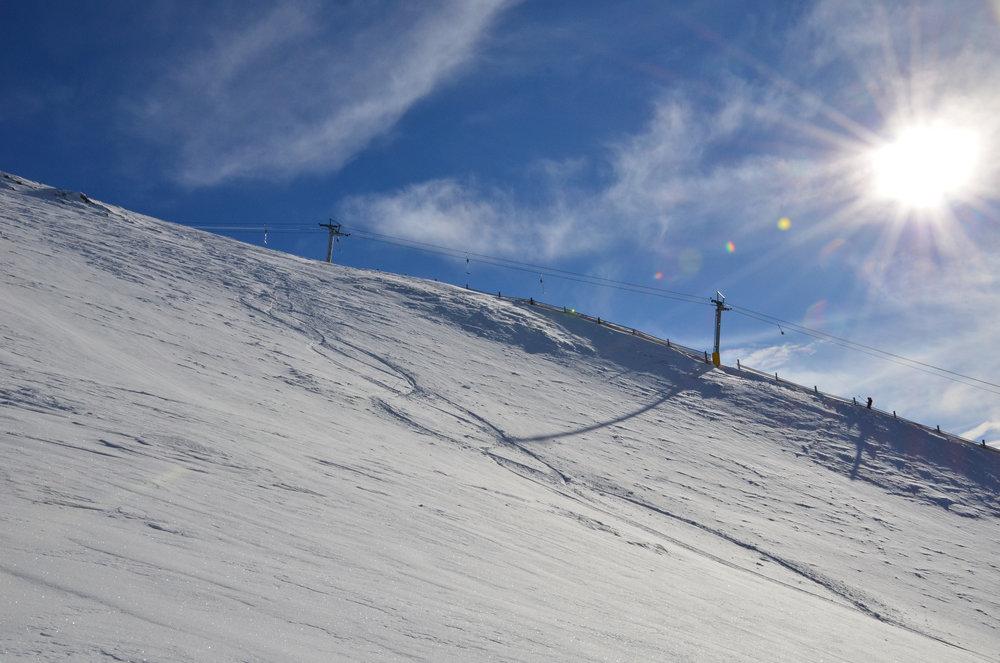 Skifahren in Bergün: Darlux - © Bergün Filisur Tourismus