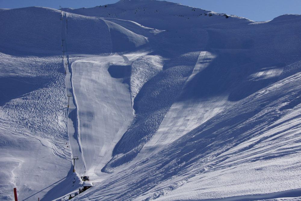 Skipiste am Darlux | Skigebiet Bergün Filisur Bravuogn - © Bergün Filisur Tourismus