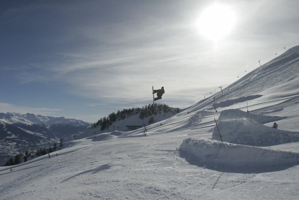 Snowpark Anzère - © Anzère Tourisme