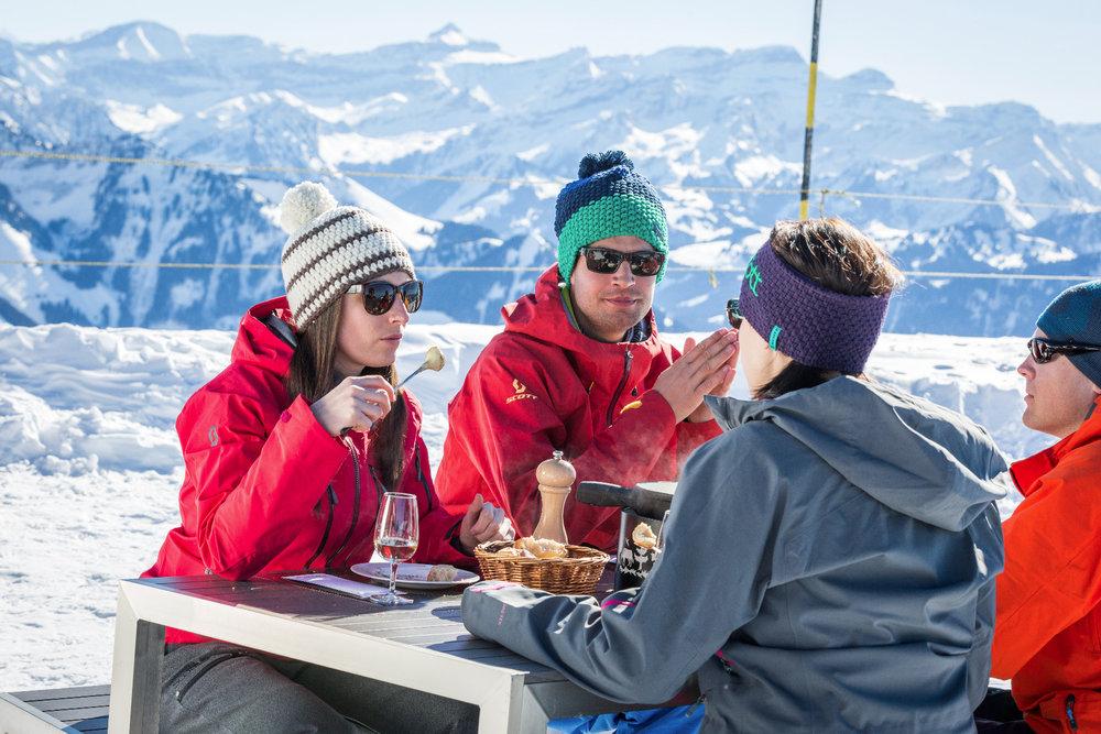 Restaurant am Le Moléson auf 2000m Höhe - © Pascal Gertschen
