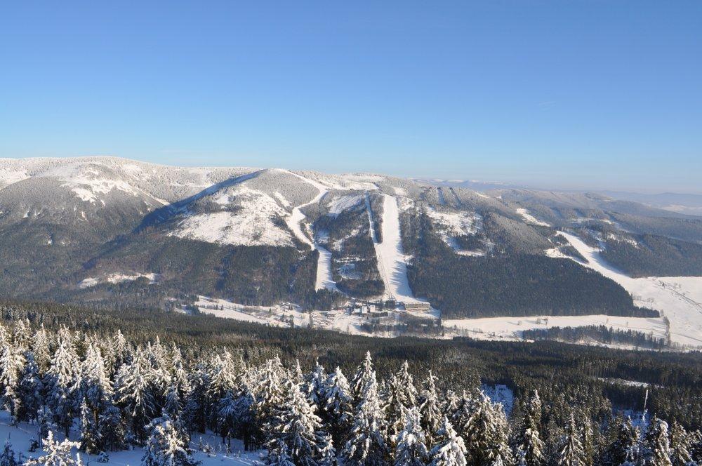 Panoramatický pohled na Horský resort Dolní Morava  - © Horský resort Dolní Morava