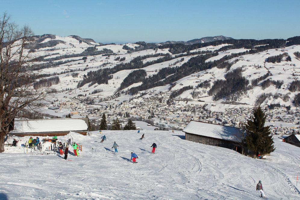 Skipiste im Skigebiet Ebnat-Kappel (Skilift Tanzboden) - © Familienskilift Tanzboden Genossenschaft