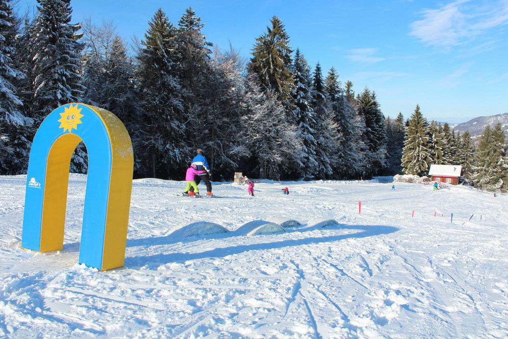 Kinderland im Skigebiet Ebnat-Kappel - © Familienskilift Tanzboden Genossenschaft