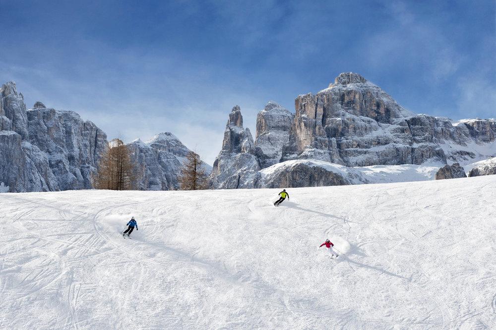 Skifahren in Alta Badia (ITA) - © IDM Südtirol/Alex Filz