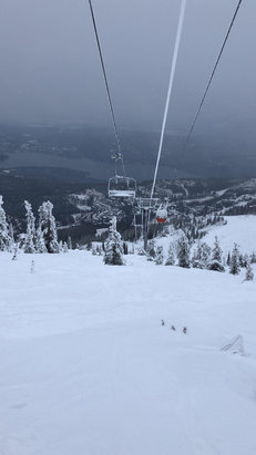 Whitefish Mountain Resort - It's snowing now! - © Tylers cell