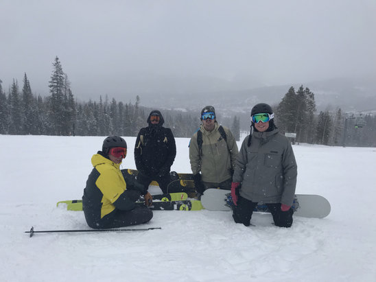 Breckenridge - It was an absolutely awesome day! The snow was awesome for early season  - © Mac Shoemaker