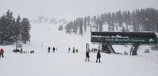 Arapahoe Basin Ski Area - Epic Day Nov 30th, snow coming down hard, cold but no wind.   - © Mtnskier