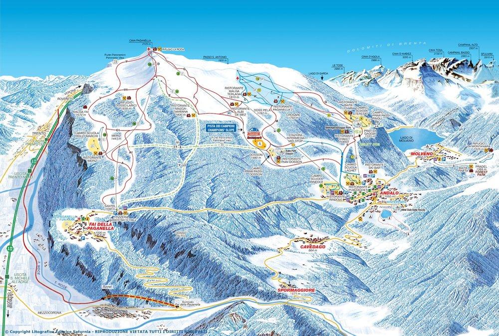 Paganella, Trentino - Dolomiti - © Ski Area Paganella